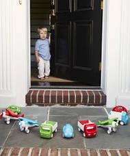 Первый автомобиль. Стильная машинка с ручкой (зеленая) (Kid O 10340), фото 2