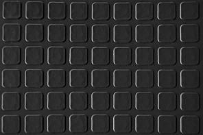 Автолин, Автолинолеум «квадрат черный», шыр. 180 см., автомобильный линолеум Турецкий