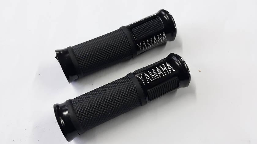 Ручки руля с алюм. отбойником (черные) (mod:Yamaha) GJCT, фото 2
