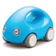 Первый автомобиль. Стильная машинка с ручкой (голубая) (Kid O 10341)