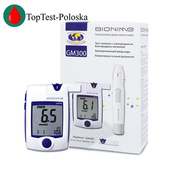 Глюкометр Bionime GM300 (Бионайм ГМ300)