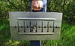 Мангал чемодан складной на 10 шампуров, толщина 2мм, ручка для переноски, компактный, фото 3