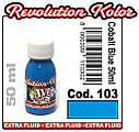 JVR Revolution Kolor, opaque cobalt blue #103,10ml, фото 2