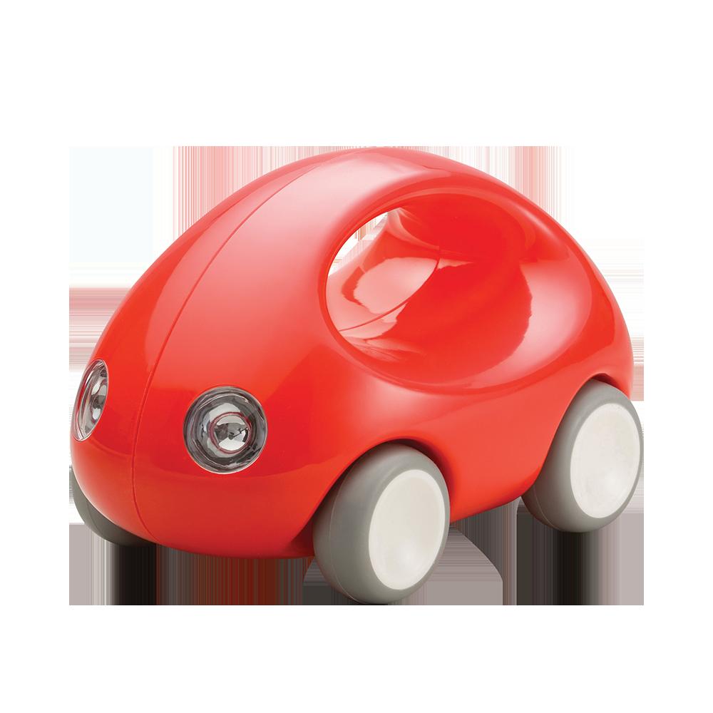 Первый автомобиль. Стильная машинка с ручкой (красная) (Kid O 10339)