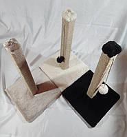 Когтеточка для кошек 55 см. (Белого цвета), фото 1