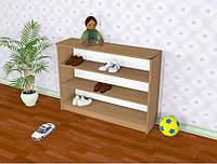 Полка для обуви в детский сад