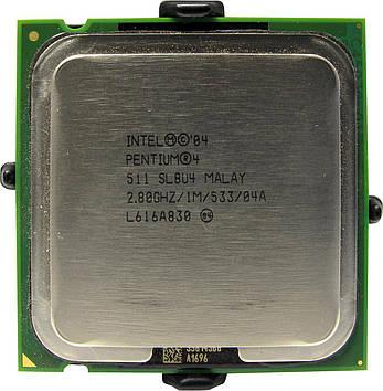 Процессор Intel Pentium 4 511 2.80GHz/1M/533 (SL8U4) s775, tray