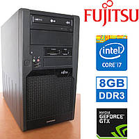 Fujitsu P9900 - Intel Core i7 / 8GB DDR3/ GeForce GTX650 1GB GDDR5/ 320GB HDD Системный блок, Компьютер, ПК