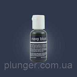 Гелевый краситель Chefmaster Navy Blue / Темно-синий