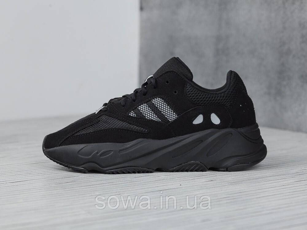 "✔️ Кроссовки Adidas Yeezy 700 Boost ""Black"""