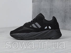 "✔️ Кроссовки Adidas Yeezy 700 Boost ""Black"" , фото 2"