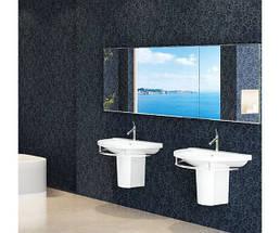 Подвесной умывальник в ванную (80 см)  Idevit Diva 2001-0805, фото 2
