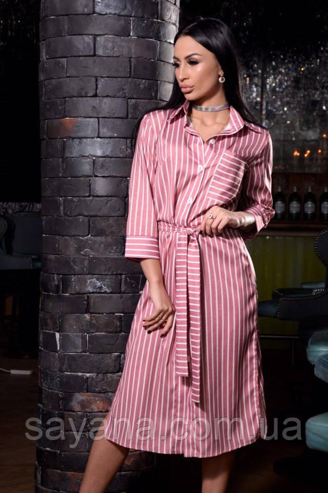 модное платье рубашка опт