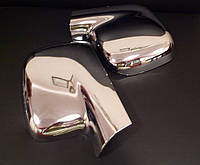 Накладки на зеркала (нерж.) Volkswagen Caddy