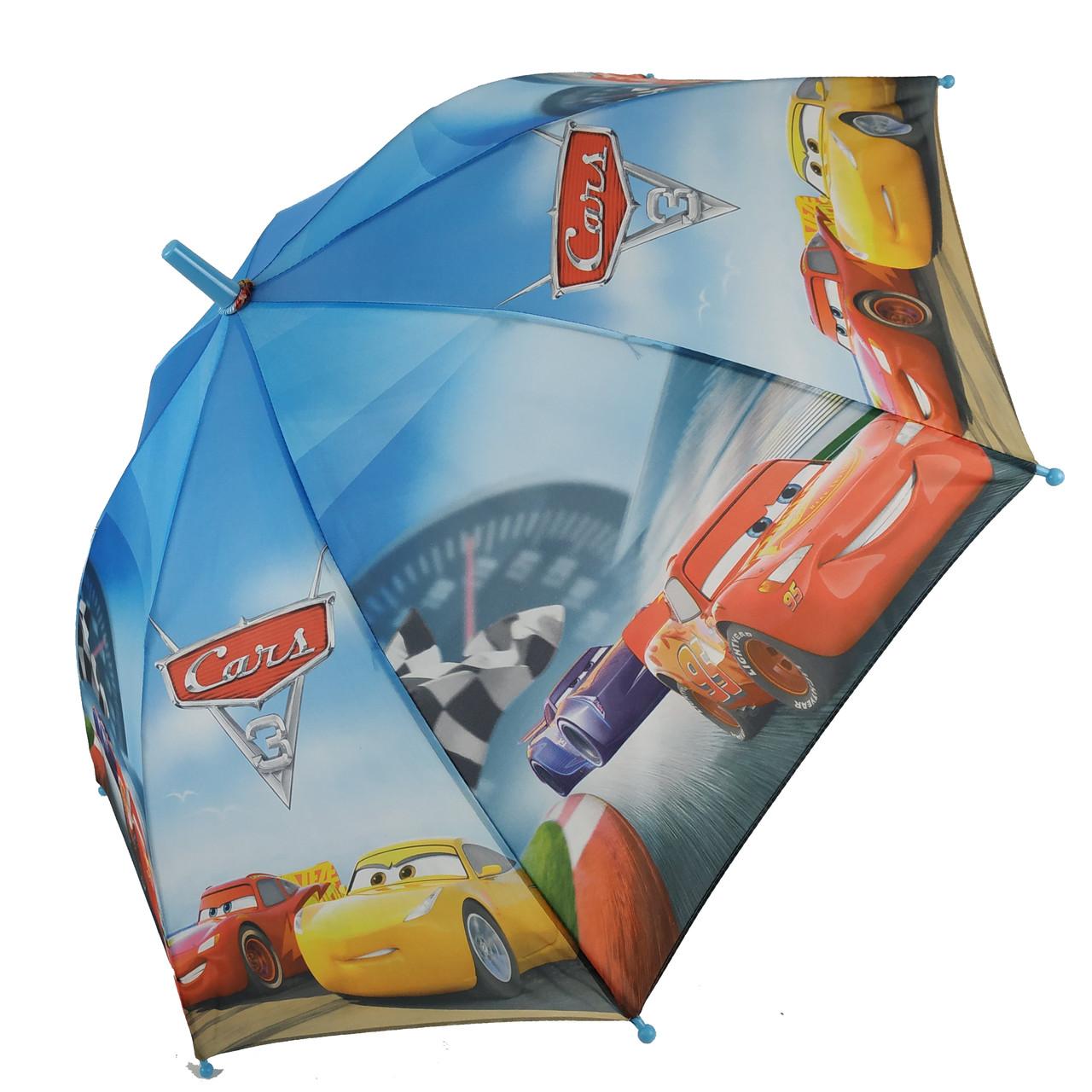 """Дитячий парасольку-тростину """"Тачки-Маквін"""" зі свистком для хлопчика від Max, різнобарвний, 009-2"""