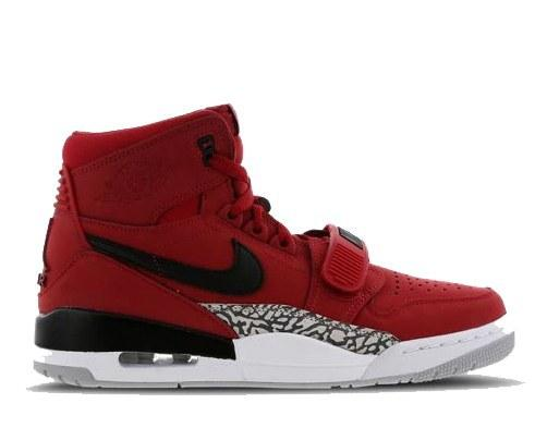 ff808d7a Баскетбольные кроссовки Найк Аир Джордан Nike Air Jordan Legacy 312 Gym Red  Красные (Арт.