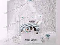 """Комплект постельного белья  """"Aran Clasy"""" Bruno для новорожденных (в кроватку)"""