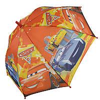 """Дитячий парасольку-тростину """"Тачки-Маквін"""" зі свистком для хлопчика від Max, помаранчевий, 009-3, фото 1"""