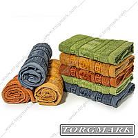 Полотенце банное махровое (Венгрия) 70 х 140 см 8 шт в упаковке. Расцветки в ассортименте., фото 1