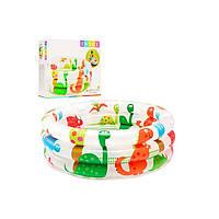 """Детский надувной бассейн """"Динозавры"""" Intex 57106"""