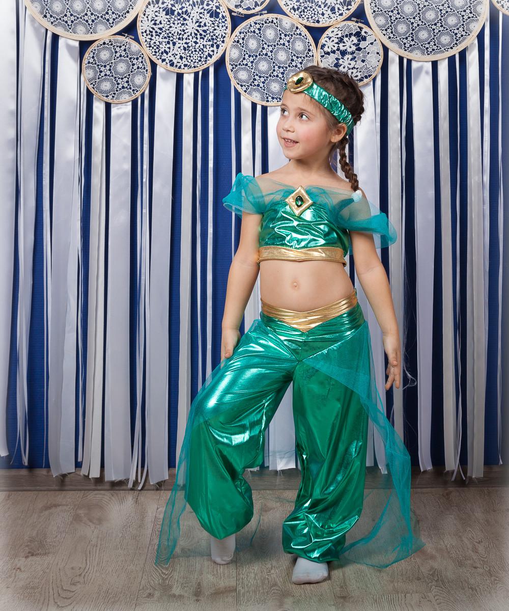 Детский карнавальный костюм принцессы Жасмин