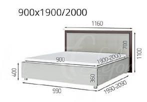 Кровать «Мишель», фото 2