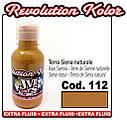 JVR Revolution Kolor, opaque raw sienna #112, 10ml, фото 2