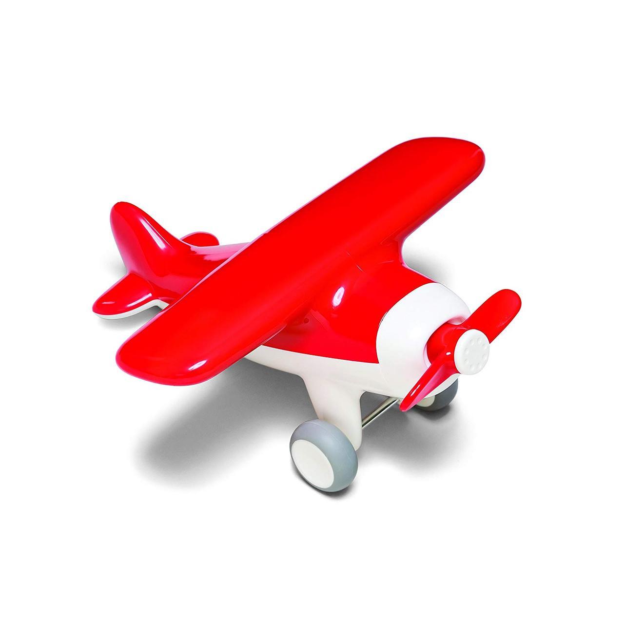 """Игрушка """"Первый самолет"""" (цвет красный) Kid O"""