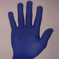 Перчатки рабочие нейлоновые с ПВХ точкой
