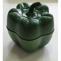 Горщик чавунний Alpari Перчик 0,5л зелений