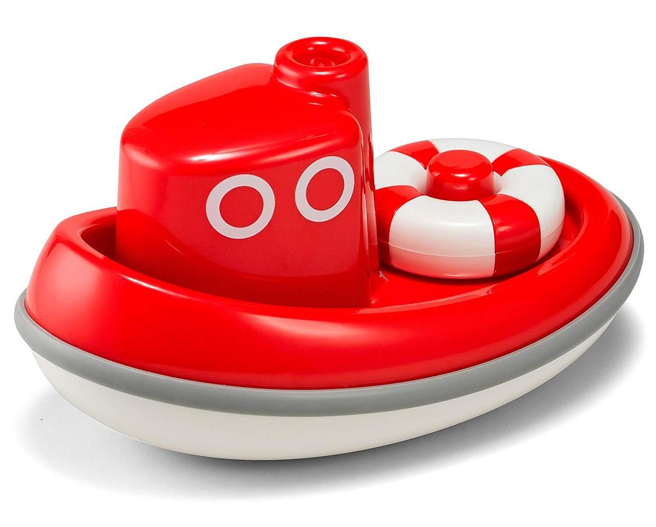 Игрушка для игры в воде Kid O Лодочка красная (10360)