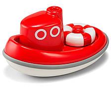 Лодочка. Игрушка для игры в воде. (цвет красный) Kid O