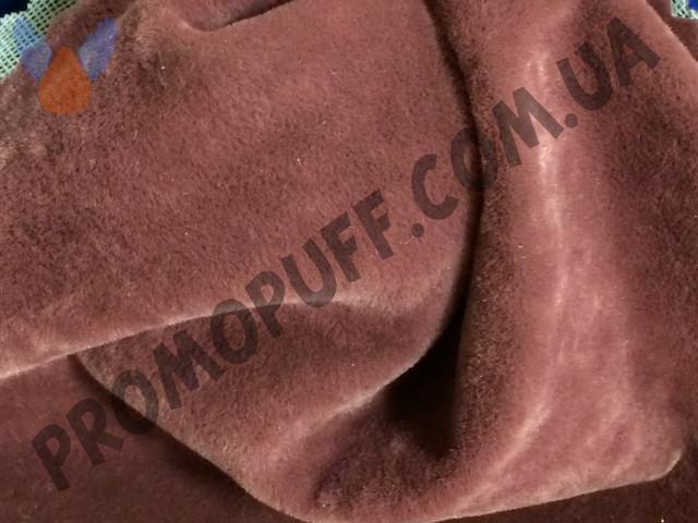 Кресло груша из флока бордового цвета. Купить кресло мешок грушу в Кировограде.