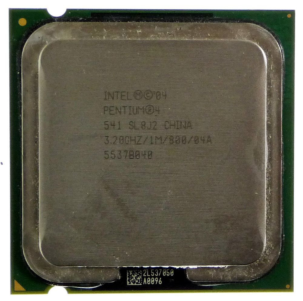 Процессор Intel Pentium 4 541 3.20GHz/1M/800 (SL8J2) s775, tray