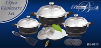 Набор посуды Barton Steel 6813