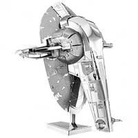 Металлическая сборная 3D модель Star Wars - Slave I, Metal Earth (MMS260)
