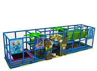 Детские игровые комнаты, игровые лабиринты