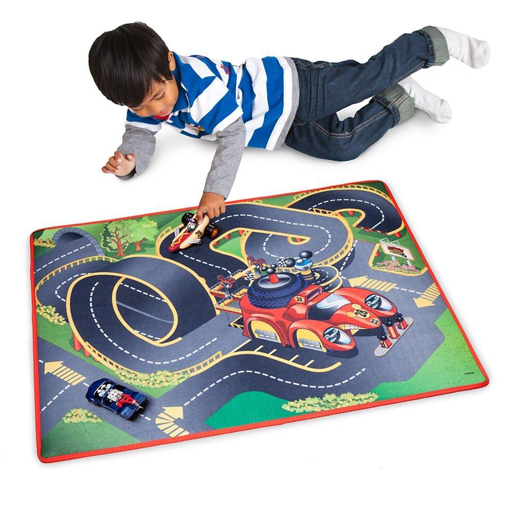 Набор гоночная трасса Дисней Микки и Родстер Racers Playmat & Транспорт Эксклюзивный Playset