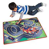 Набор гоночная трасса Дисней Микки и Родстер Racers Playmat & Транспорт Эксклюзивный Playset, фото 1