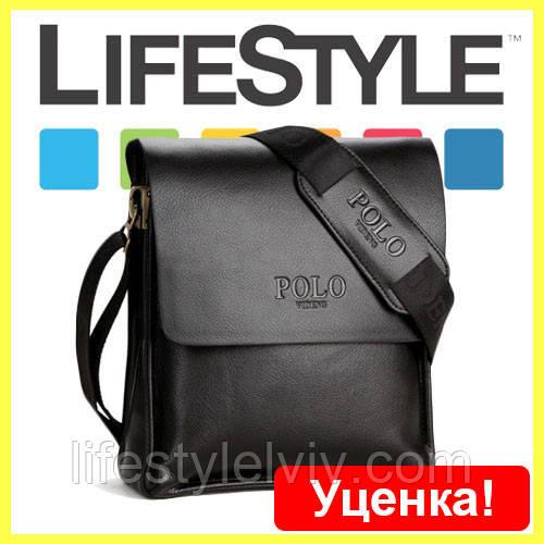 61af3a74445a Стильная брендовая мужская кожаная сумка Polo. Уценка!: продажа ...