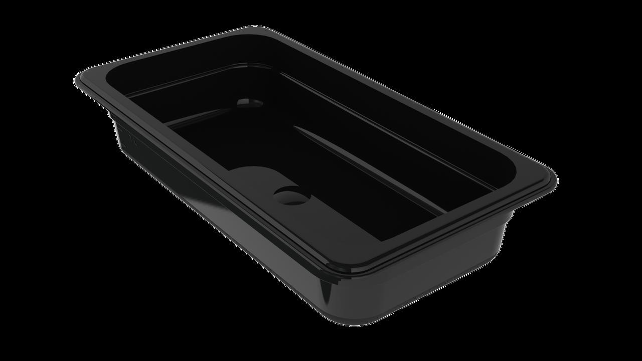 Гастроемкость из поликарбоната черная GN1/3 h100 мм