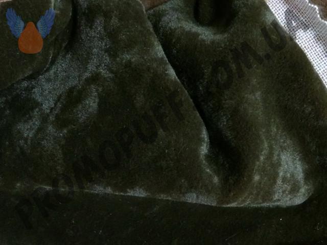 Кресло груша из флока шоколадного цвета. Купить кресло мешок грушу в Сумах.