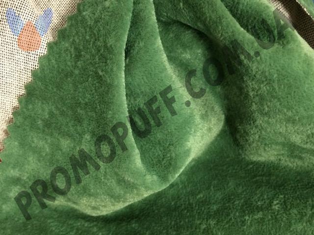 Кресло груша из флока темно зеленого цвета. Купить кресло мешок грушу в Житомире.