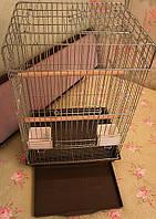 Клетка для средних и крупных попугаев (50 х 40 х 80 см), фото 1