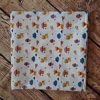 Пеленка микс расцветок, ситец, р.95*70см., фото 1