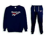 Мужской спортивный костюм, чоловічий костюм (реглан+штаны) Reebok S296
