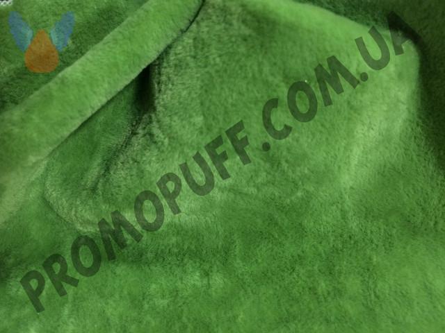 Кресло груша из флока зеленого цвета. Купить кресло мешок грушу в Хмельницком.