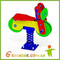 Качалка на пружине Мотоцикл K29 для детей игровые спорт комплексы