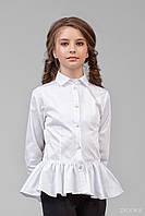 Блузка школьная для девочки 26-8006-1, фото 1