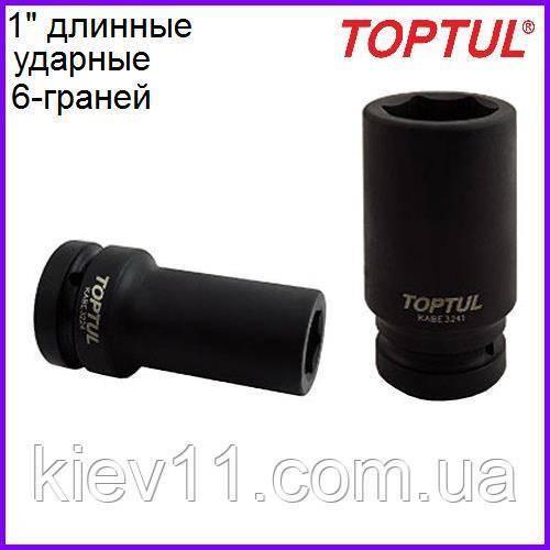 """Головка торцевая ударная 1""""  длинная  30мм  TOPTUL KABE3230"""
